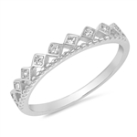 Silver CZ Ring - $4.83