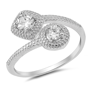 Silver CZ Ring - $5.70
