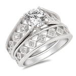 Silver CZ Ring - $15.99