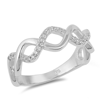 Silver CZ Ring - $6.87