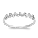 Silver CZ Ring - $4.33