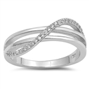 Silver CZ Ring - $5.47