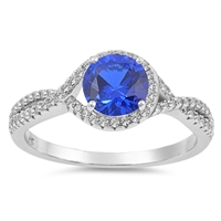 Silver CZ Ring - $7.49
