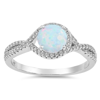 Silver CZ Ring - $8.02