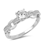 Silver CZ Ring - $5.95