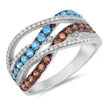 Silver CZ Ring - $15.08