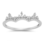 Silver CZ Ring - $3.41