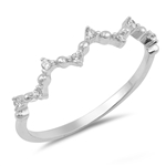 Silver CZ Ring - $3.02