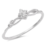 Silver CZ Ring - $2.92