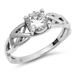 Silver CZ Ring - $4.32