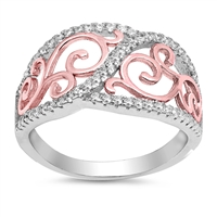 Silver CZ Ring - $8.62