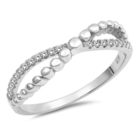 Silver CZ Ring - $4.57