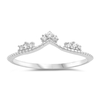 Silver CZ Ring - $3.03