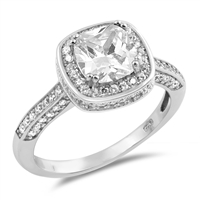 Silver CZ Ring - $8.86