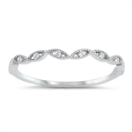 Silver CZ Ring - $3.05