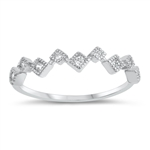Silver CZ Ring - $3.28