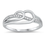 Silver CZ Ring - $4.58