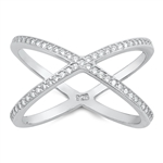 Silver CZ Ring - $7.72