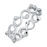 Silver CZ Ring - $5.14