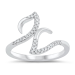 Silver CZ Ring - $5.77