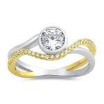 Silver CZ Ring - $8.91