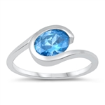 Silver CZ Ring - $5.58