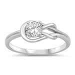 Silver CZ Ring - $4.38