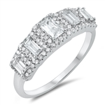 Silver CZ Ring - $8.20