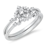 Silver CZ Ring - $8.00