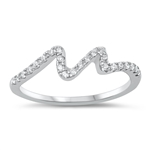 Silver CZ Ring - $5.72