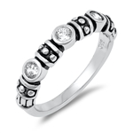 Silver CZ Ring - $6.05