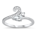 Silver CZ Ring - $5.54