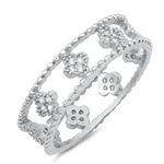 Silver CZ Ring - $7.92