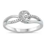 Silver CZ Ring - $5.40