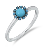 Silver CZ Ring - $5.52