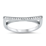 Silver CZ Ring - $5.69