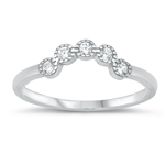 Silver CZ Ring - $3.46