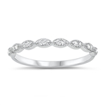 Silver CZ Ring - $3.63