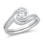 Silver CZ Ring - $8.44
