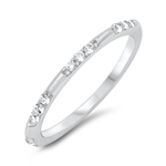 Silver CZ Ring - $3.76
