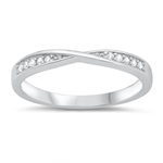 Silver CZ Ring - $4.10