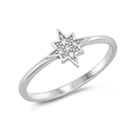 Silver CZ Ring - Twinkle Star - $3.27