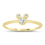 Silver CZ Ring - Mouse - Start $3.99