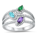 Silver CZ Ring - $13.10