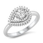 Silver CZ Ring - $8.18