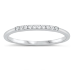Silver CZ Ring - $5.21