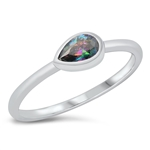 Silver CZ Ring - $5.06