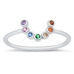 Silver CZ Ring - $4.27
