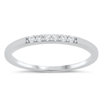 Silver CZ Ring - $4.43