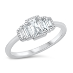Silver CZ Ring - $6.26